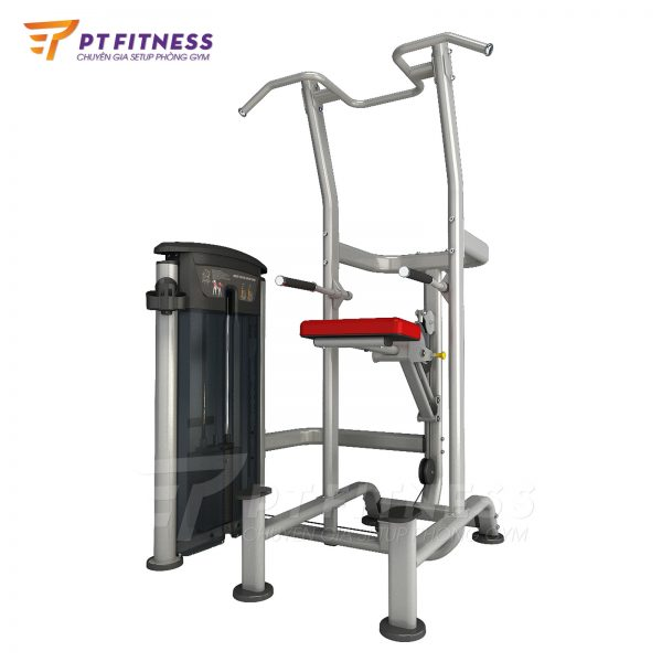 impulse it9520 máy kéo xà trợ lực weight assisted chin dip combo red