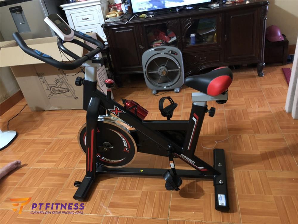 Hình ảnh thực tế xe đạp tập thể dục pt2050